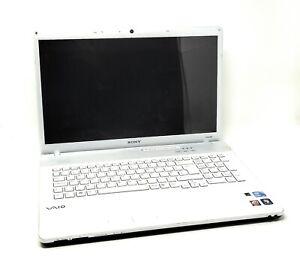 "Sony Vaio VPCEC4S0E 17.3"" Laptop Intel i5 M 540 2.53GHZ 6GB Windows 10 Webcam"