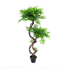 Artificial 120cm Japanese Fruticosa Tree Realistic Japanese Bonsai Style Plant