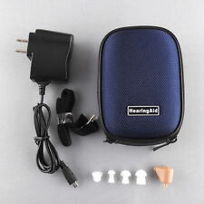 K-88 Rechargeable Digital In Ear Hearing Aid Adjustable Amplifier BOX Acouophone
