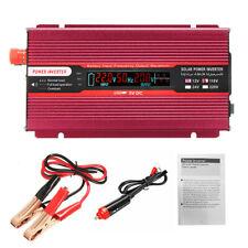 2000W Solar Power Inverter 12/24V to 110/220V Modified Sine Wave