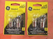 2357--GE--LOT--OF--4---Standard Tail Light Bulb  2357/BP2