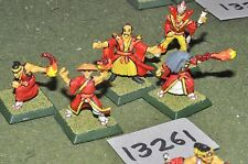 25mm japanese clan wars undead samurai characters 5 figures (13261)