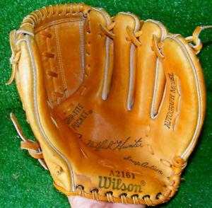 Vintage Wilson Catfish Hunter Augograph Model Baseball Glove A2161 Yankees