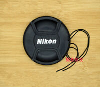 2 PCS New 49mm Front Lens Cap for NIKON
