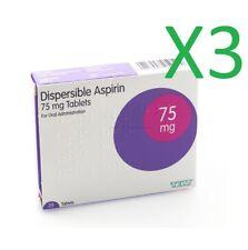 3 x 28 Aspirin 75mg DISPERSIBLE Tablets
