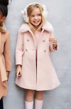 Monsoon Niña Festoneado Piel Princesa Abrigo Escuela Vestido Chaqueta Edad 3A