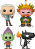 Disenchantment - Set of 4 King Zog Luci Bean Funko Pop Vinyls New in Boxes