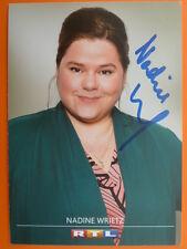 """Nadine Wrietz, RTL Karte """"Der Lehrer"""""""