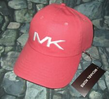 MENS MICHAEL KORS ADJUSTABLE FADED CORAL HAT CAP ONE SIZE