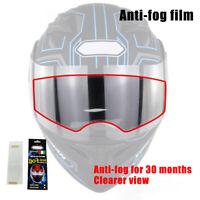 Helmet Anti-fog Films Motorbike Helmet Lens Visor Waterproof Films Stickers