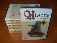 HISTORIA DE ARAGÓN (COLECCIÓN COMPLETA 9 DVDs EL PERIÓDICO PRECINTADOS)