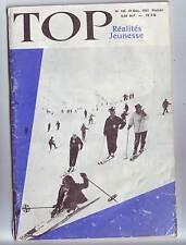 Top Realites Jeunesse N° 160. Les Etats-Unis Et La Lune : Le Projet Apollo.