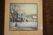 Tranquility by Ronald Louque  Framed and Matted