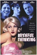 WISHFUL THINKING-orig 27x40 movie poster-DREW BARRYMORE
