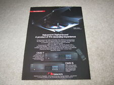 Nakamichi OMS-1000, 7, 5 CD Ad, 1985, Info, Article, 1 page