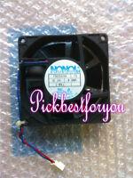 1 PC FULLTECH Fan UF-80B23BWH AC 230V 8CM 16//14W 2 Wire #M258A QL