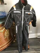 Junior One Piece black insulated SnowSuit, Size140, in excellent condition