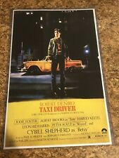 Taxi Driver 11x17 inch Movie Poster in Hard Plastic Sleeve