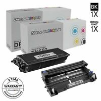 2PK TN650 & DR620 for Brother Toner Cartridge & Drum DCP-8050D HL-5340D MFC-8370