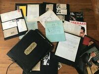 Liberace  scrapbook, Piano Roll News, Fan Club, clippings lot