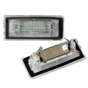 LED Kennzeichenbeleuchtung Lichter E-Zulassung für Audi TT Roadster 8N 98-06