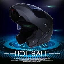 DOT Modular Helmet Flip Up Motorcycle Helmet Full Face Dual Visor Street Bike XL