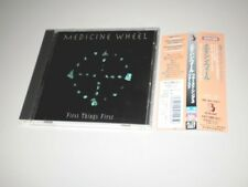 MEDICINE WHEEL-  FIRST THINGS FIRST - CD MADE IN JAPAN - 1996 - W/OBI - RARE