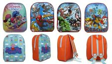 Kids Boys Girls Junior Backpack Toddlers Character Back To School Rucksack Gift