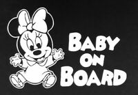 Baby On Board Funny Car Child Children Window Bumper Sticker Vinyl ........