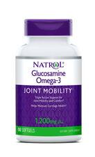 Natrol Glucosamine Omega-3 90 Soft-gels