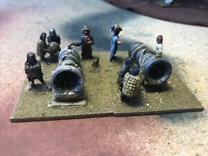25mm Medieval Bombards With Crew