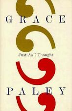 Just As I Thought, Paley, Grace, 0374180601, Book, Acceptable