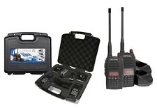 CRYSTAL 5W 80 CHANNEL TWIN TRADIE UHF HANDHELD RADIO 2 WAY RADIO CB 2 RADIOS