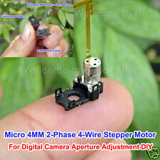 Mini 4MM 2 Phase 4 Wire Stepper Motor for Digital Camera Aperture DIY Parts