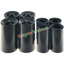 4x AA to C Size Battery Converter Case+4x AA to D Size Battery Converter Case