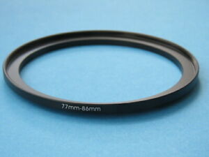 77mm to 86mm Step-Up Ring Camera Filter Adapter Ring 77mm-86mm