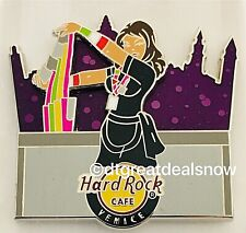 NEW Hard Rock Cafe Bartender Series Pin HRC Limited Edition Venice Italy