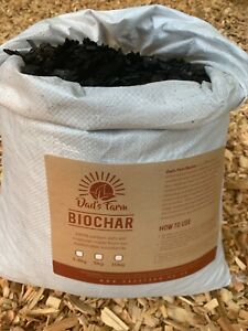 BIOCHAR - Carbon Rich Soil Improver for Gardening