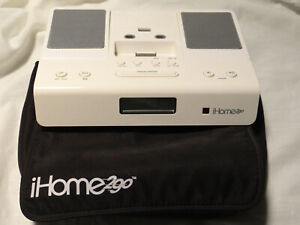 iHome2go Portable Speakers for Ipod/Iphone - plus a 30 pin to lightning adapter