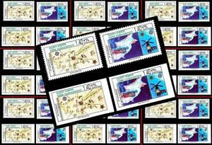 TURKISH CYPRUS 2006 EUROPA-CEPT perf/imperforated x10 mnh SPACE MAPS $wholesale$