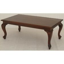 Timber Coffee Table, No Drawers, 120 x70cm Mahogany Timber.