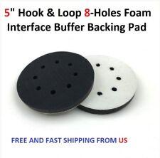 "5"" Hook & Loop 8-Holes Foam Interface Buffer Backing Pad"