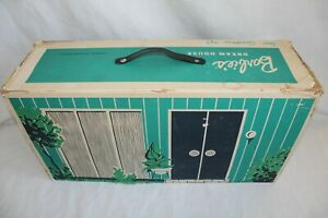 "VINTAGE MATTEL 1962 BARBIE DOLL DREAM HOUSE W/ MANY ACCESSORIES 26"" X 14"" X 8"""