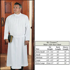 Polyester Self-Fitting Alb White, Medium