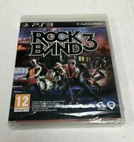 PlayStation 3 PS3 Rock Band 3 Game NEW SEALED