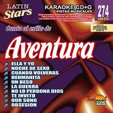 Karaoke Latin Stars 274 Aventura Vol.1