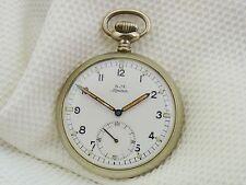 Bella vecchio orologio da tasca Alpina/marina da guerra c.355
