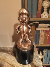 Nintendo Mario Bronze Trophy - Employee Award.  Not For Resale - NFR