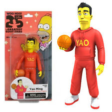 "NECA THE SIMPSONS SERIES 1 YAO MING 25th ANNIVERSARY 5"" COLLECTIBLE FIGURE"