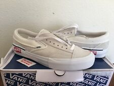 Vans Vault Slip-On Cap LX Deconstructed Inside Out Marshmallow White Size 8.5